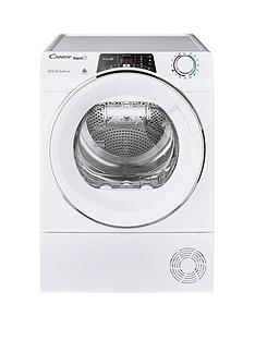 candy-rapido-roh10a2tce-10kg-load-heat-pump-tumble-dryer-whitechrome