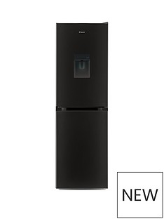 candy-cmcl-5172bwdk-55cm-wide-fridge-freezer-with-water-dispenser-black