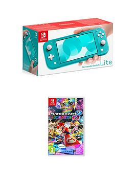 Nintendo Switch Lite Console With Mario Kart 8 Deluxe
