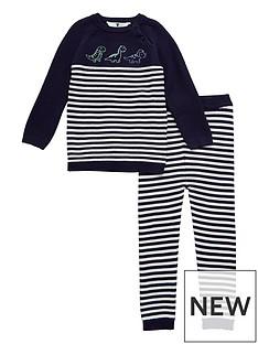 v-by-very-baby-boys-knitted-stripe-dinosour-set-navy