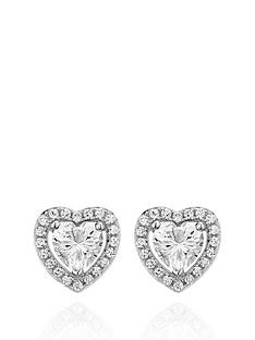 beaverbrooks-silver-cubic-zirconia-heart-earrings
