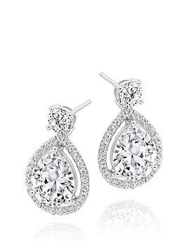beaverbrooks-9ct-white-gold-cubic-zirconia-pear-drop-earrings