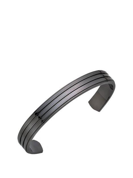 beaverbrooks-torque-mens-bracelet-gunmetal