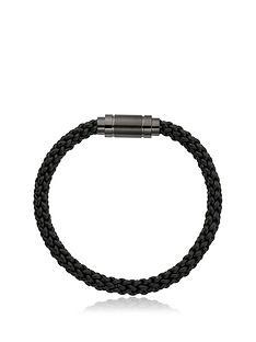 beaverbrooks-stainless-steel-black-leather-plait-mens-bracelet