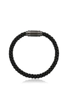 beaverbrooks-stainless-steelnbspleather-plait-mens-bracelet-black
