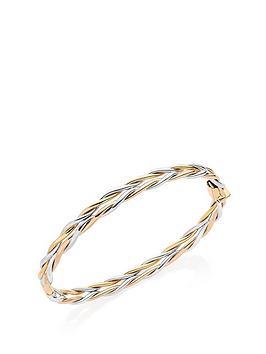 beaverbrooks-9ct-gold-white-gold-and-rose-gold-bangle