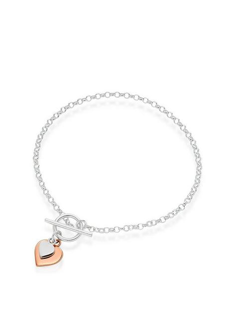 beaverbrooks-silver-and-rose-gold-plated-double-heart-t-bar-bracelet