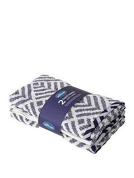 silentnight-geo-2-pack-hand-towels