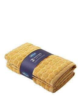 silentnight-honeycomb-2-pack-hand-towels