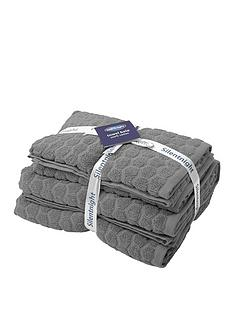 silentnight-honeycomb-4pc-towel-bale