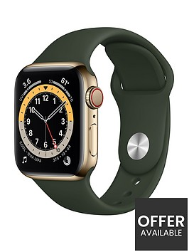 apple-watch-series-6-gps-cellular-40mm-gold-stainless-steel-case-with-cyprus-green-sport-band