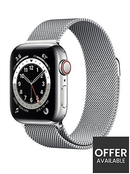 apple-watch-series-6-gps-cellular-40mm-silver-stainless-steel-case-with-silver-milanese-loop
