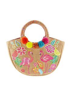 monsoon-girls-tropical-paradise-hoop-handle-bag-multi