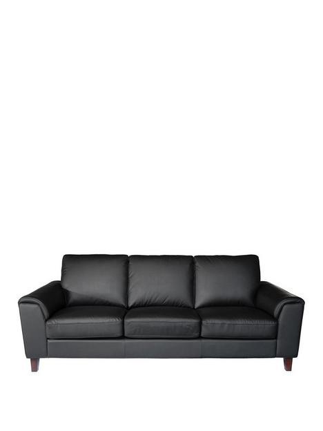 roma-real-leatherfaux-leathernbsp4-seater-sofa