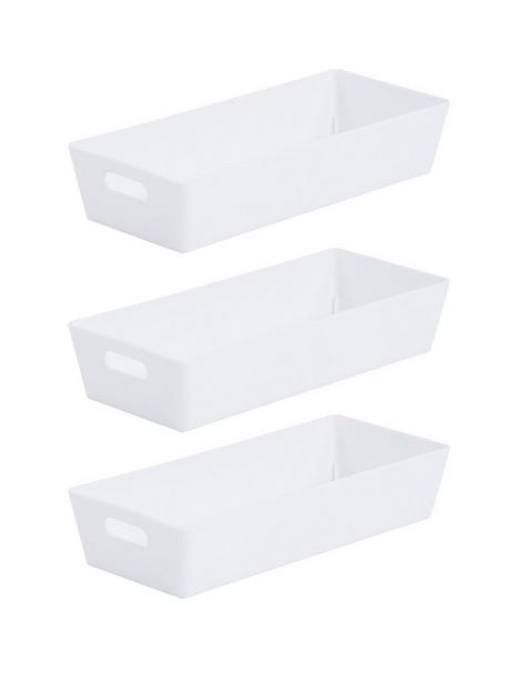 wham-set-of-three-1-litre-studio-baskets--nbspwhitenbsp