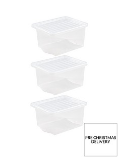 wham-set-of-3-clear-plastic-crystal-storage-boxes-ndash-35-litres-each