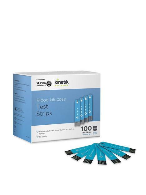 kinetik-100-x-test-strips-for-kinetik-blood-glucose-monitoring-system