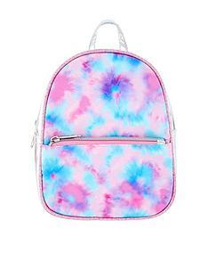 accessorize-girls-tie-dye-printed-backpack-multi