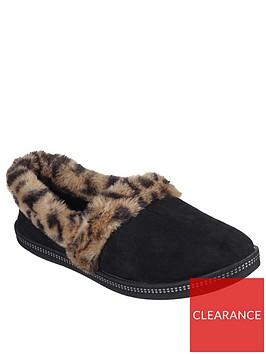 skechers-cozy-campfire-frisky-gal-leopard-full-slipper-black