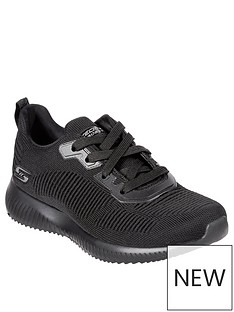skechers-bobs-squad-tough-talk-trainers-black