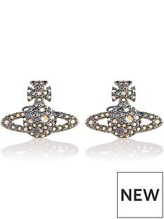 vivienne-westwood-grace-bas-relief-stud-earrings-gunmetal