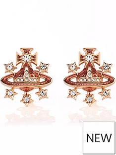 vivienne-westwood-dalila-bas-relief-earrings-rose