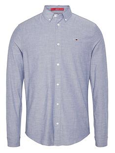 tommy-jeans-tjmnbspslim-stretch-fit-oxford-shirt-twilight-navy
