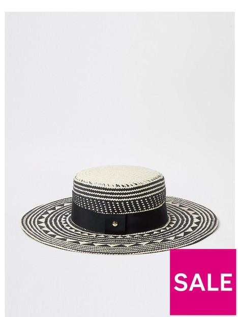 river-island-pattern-prairie-hat-black