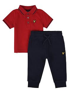 lyle-scott-toddler-boys-polo-jogger-outfit