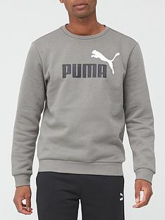 puma-essentialnbsp2-colournbspsweatshirt-grey