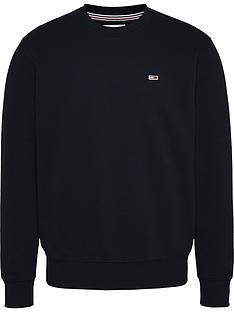 tommy-jeans-regular-fleece-sweatshirt-blacknbsp