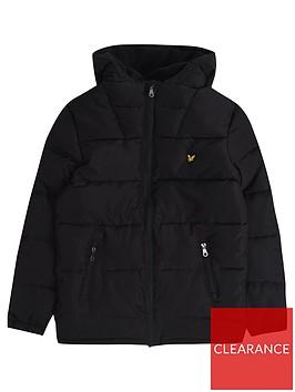 lyle-scott-boys-hooded-padded-coat-black
