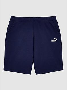 puma-plus-size-essentials-shorts-navy