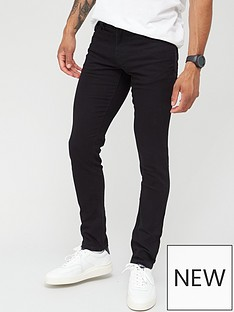 armani-exchange-j14-skinny-fit-jeans-black