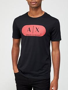 armani-exchange-block-logo-print-t-shirt-black