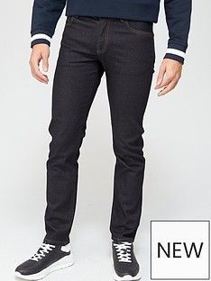 armani-exchange-j16-straight-fit-rinse-wash-jeans-indigonbsp