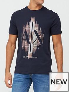 armani-exchange-ax-skyline-logo-print-t-shirt-navy
