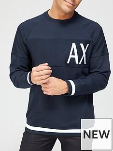 armani-exchange-armani-exchange-panel-logo-sweatshirt