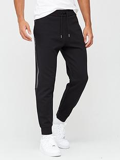 armani-exchange-side-stripenbspjoggers-black