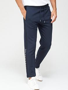 armani-exchange-panel-logo-joggers-navy