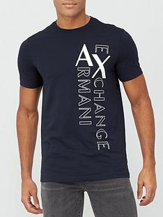 armani-exchange-ax-vertical-logo-print-t-shirt-navy
