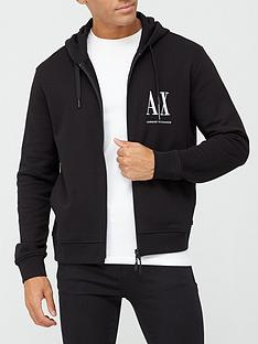 armani-exchange-ax-icon-logo-zip-through-hoodie-black
