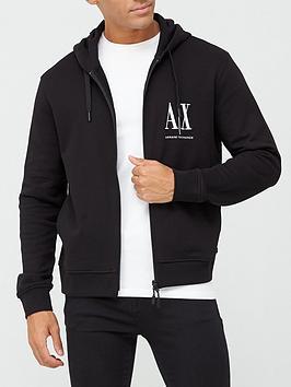 armani-exchange-ax-icon-logo-zip-through-hoodie-black