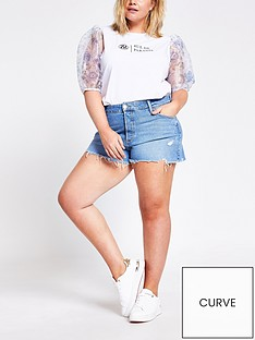 ri-plus-denim-shorts-blue