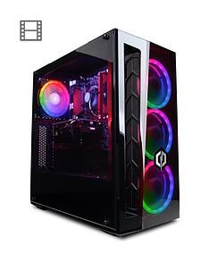 cyberpower-amd-ryzen-5-3600-16gb-ram-2tb-hardnbspdrive-nvidianbsprtx-2060-graphics-desktop-pc--nbspblack