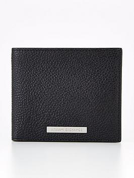 armani-exchange-pebble-grain-leather-billfold-wallet-blacknbsp