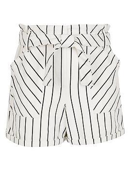 river-island-girls-stripe-paperbag-shortsnbsp-nbspwhite