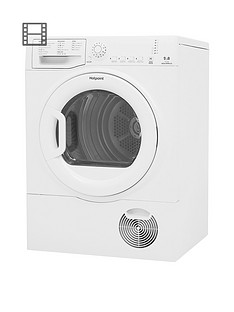 hotpoint-tcfs83bgp-8kg-load-condenser-tumble-dryer-white