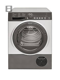 hotpoint-tcfs83bgg-8kg-load-condenser-tumble-dryer-graphite