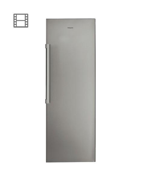 hotpoint-sh81qgrfd-60cm-width-tall-fridge-graphite